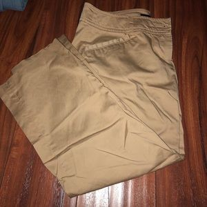 Khaki cropped pants Willi Smith